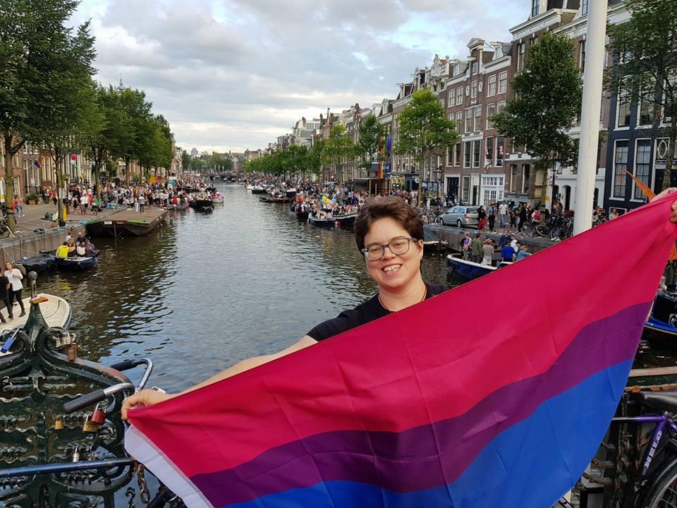 Iris Westerhof Amsterdam pride 2017